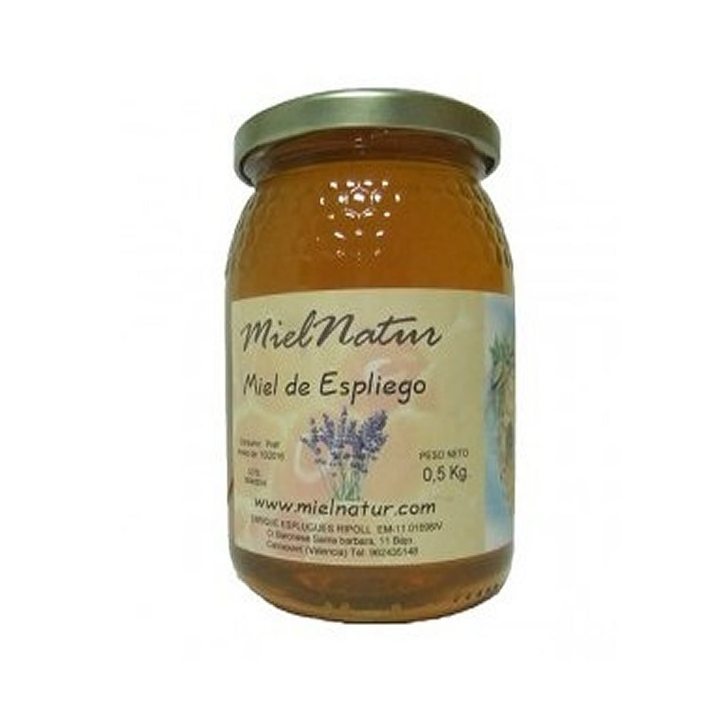 Miel cruda natural de Espliego 1 Kg